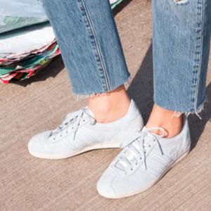 Adidas Gazelle Blue Chalk White